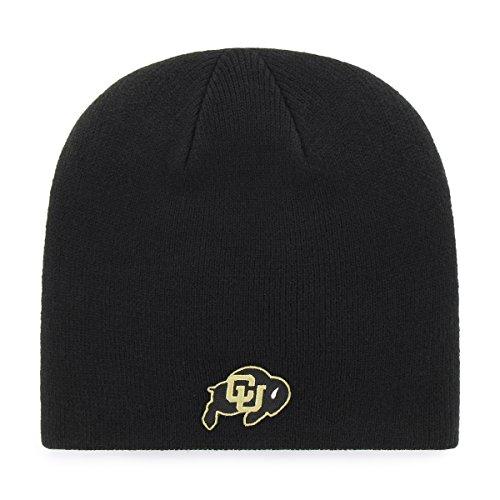 OTS NCAA Colorado Buffaloes Beanie Knit Cap, Black, One Size (Buffaloes Colorado Baseball)