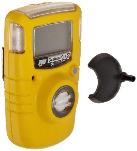 BW Technologies GA24XT-X GasAlertClip Extreme 2-Year Detector, O2, 0-30.0 Percent Measuring Range, 19.5 to 23.5 Percent Alarm Setpoint