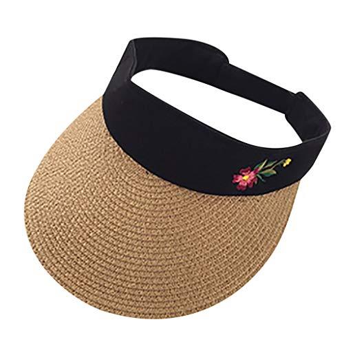 YKARITIANNA Sun Visor for Men Women,2019 Premium Sports Tennis Golf Running Hat, Mesh Adjustable Cap Coffee