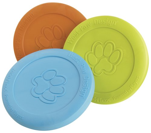 West Paw Design Zogoflex Dog Toy, Zisc, Colors Vary, My Pet Supplies