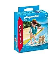PLAYMOBIL- Paddle Surf Juguete, Multicolor (geobra Brandstätter 9354)