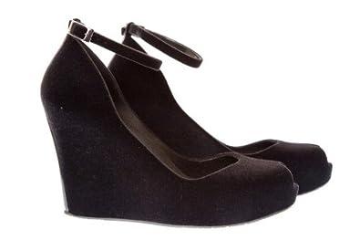 dd15ede954 Melissa Patchuli 2 Black Flock - 40: Amazon.co.uk: Shoes & Bags