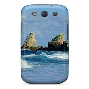 Durable Case For The Galaxy S3- Eco-friendly Retail Packaging(la Pointe Des Chateaux Guadeloupe)