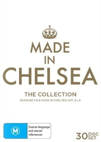 Made In Chelsea The Collection | Season 1-9 plus Made in Chelsea NYC plus L.A. | 28 Discs | NON-USA Format | PAL | Region 4 Import - Australia by Shock