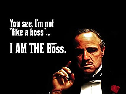 be20294c Image Unavailable. Image not available for. Color: 777 Tri-Seven  Entertainment The Meme Quote I'm Not Like Boss ...