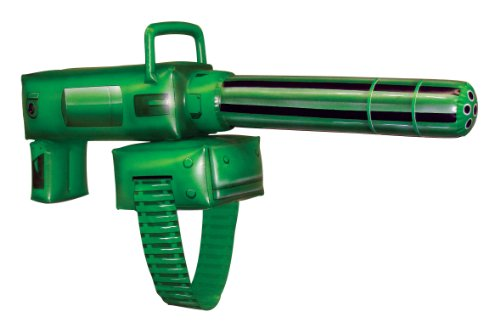 Green Lantern Inflatable Gatling Gun Costume Accessory (Green Lantern Womens Costume)