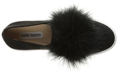 M EU Steve Madden Schwarz US Emotion Stiefel Damen Hohe Schwarz 37 Femmes aqRUfTqWc