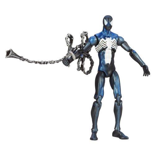 Dark Spiderman Costume (Marvel Universe Black Costume Spider-Man Figure 3.75 Inches)