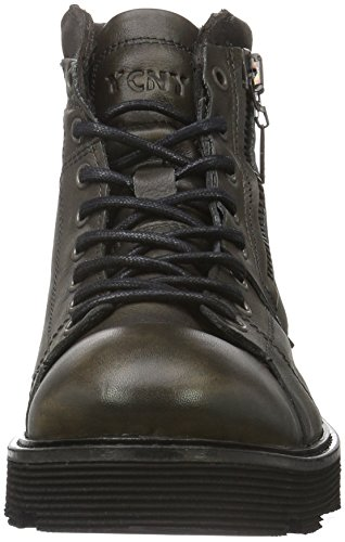 Yellow Cab Herren Piston M Biker Boots Grau (Antracite)