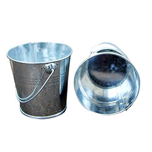 Price comparison product image Mini Metal Iron Bucket Candy Keg Pails DIY Wedding Party Favour Decoration