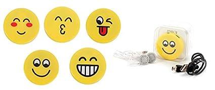 MP3 Emoticonos en caja de Regalo (Incluye Cable + Cascos) Presentado en Cajita de