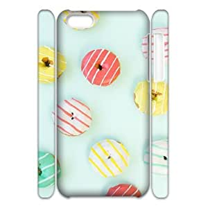 """Beach Palm Tree And Vintage Bus Theme Case for iPhone 6(4.7"""") PC Material Black"""