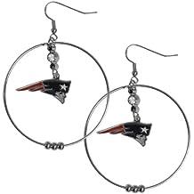 NFL 2-Inch Hoop Earrings