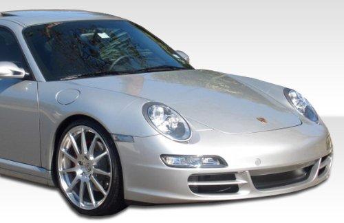 1999-2004 Porsche 996 C2/C4 997 Duraflex Carrera Conversion - Includes 997 Carrera Conversion Front Bumper (105126), 997 GT-3 RS Conversion Rear Bumper (105129), and 997 Conversion OEM Fenders (105128). - Duraflex Body Kits ()