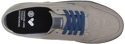 Element TOPAZ ETOPJ1 01A  6057 - Zapatillas de skate de tela para hombre Grau (WARM GREY 6572)
