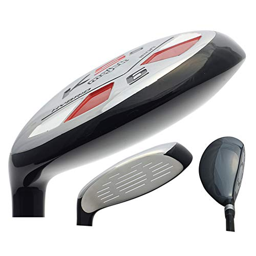 Left Handed Majek Golf Senior Men's #6 Hybrid Senior Flex New Utility A Flex Club (Clubs Handed Left Hybrid)