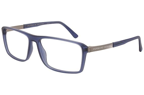 2efa4deb32d7 Porsche Design P8259 B Unisex Blue Frame Eyeglasses  Amazon.ca ...