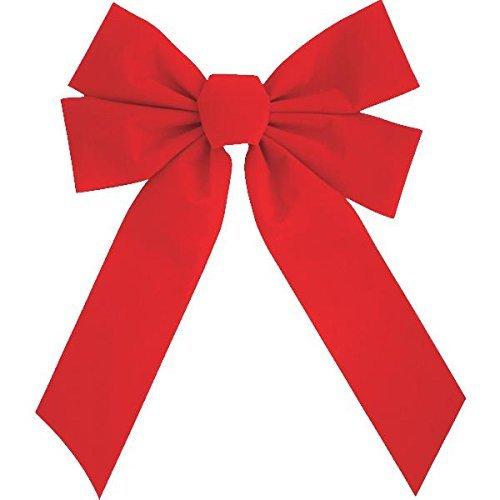 11 x 16 4 Loop Red Bow