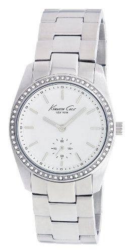 Kenneth Cole New York Women's Quartz Stainless Steel Dress Watch, Color:Silver-Toned (Model: KC4722