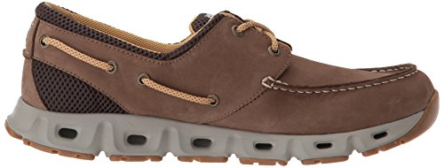 Columbia Pfg Mens Boatdrainer Iii Pfg Boat Shoe Cordovan, Curry