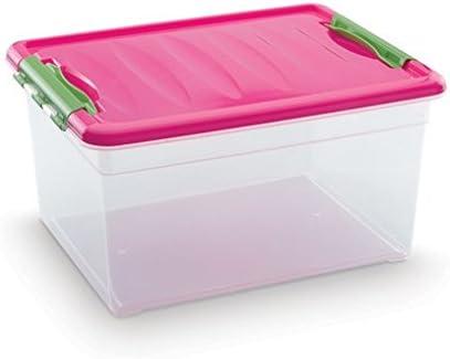 Plastic Forte - Caja de ordenación n 9 12 litros: Amazon.es: Hogar