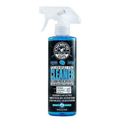 Chemical Guys BUF_333_16 Foam and Wool Citrus-Based Pad Cleaner (16 oz)