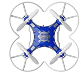 FQ777-124 Pocket Drone 4CH 6Axis Gyro Quadcopter With Switchable Controller RTF #Color:Blue