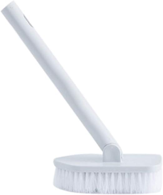 krueis Long Handle Bathroom Cleaning Brush Decontamination Toilet Brush Sponge Brush Gray