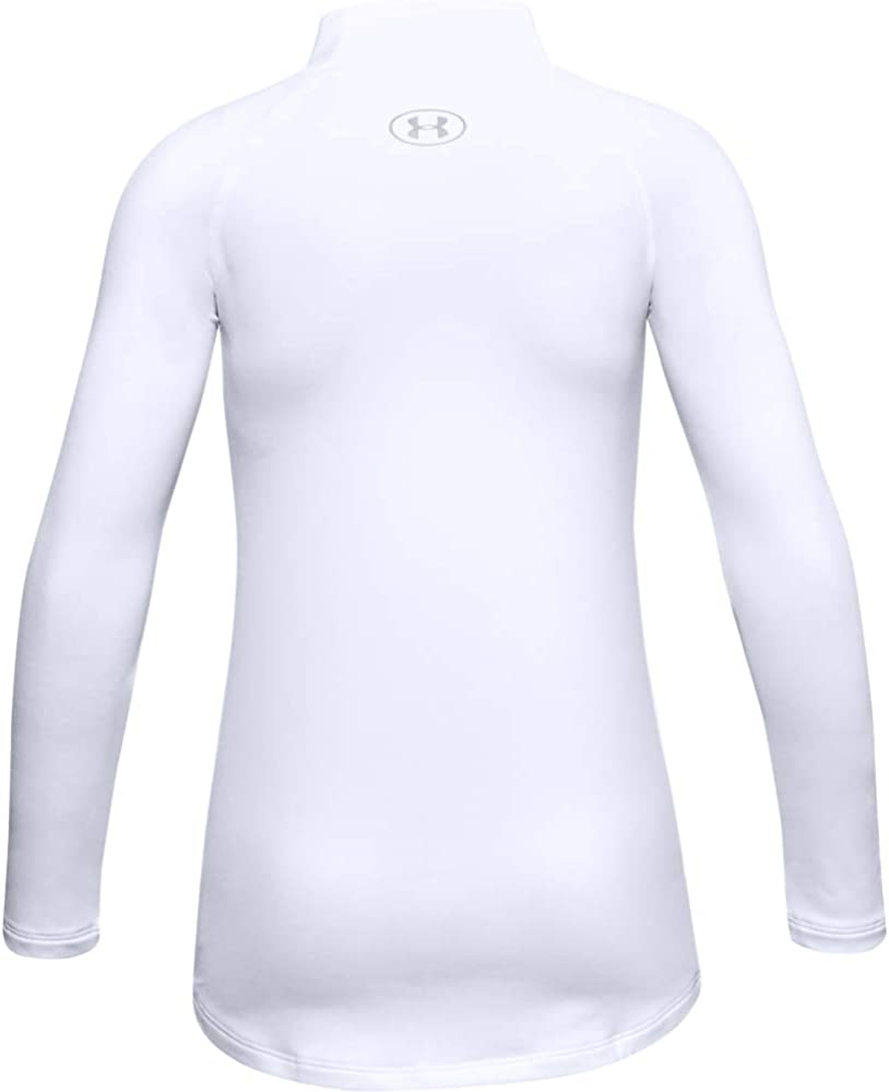 Under Armour Girls' ColdGear Long Sleeve Mock T-Shirt: Clothing