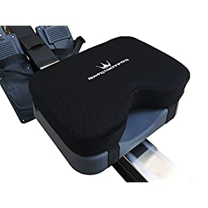Well-Being-Matters 41CjsmlvrXL._SS300_ Rowing Machine Seat Pad for Concept2 Model D & E - Plus Other Rower Models (WaterRower, NordicTrack, Etc.) Seat Cushion…