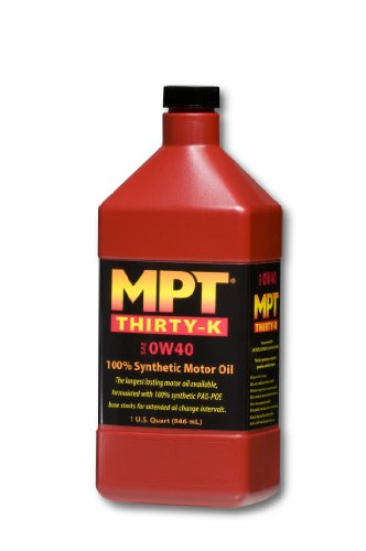 Mpt industries mpt29 0w 40 hi performance fully synthetic for Top 1 motor oil review