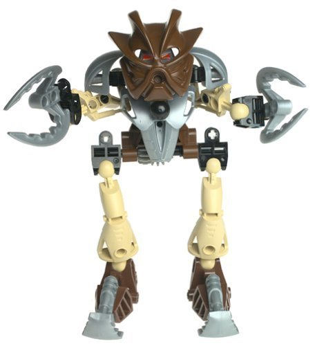 LEGO Bionicle Toa SUPER NUVA Figure #8568 Pohatu Brown by Lego [並行輸入品] B00TT7UZCI
