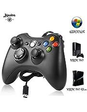 Xbox 360 Controlador de Gamepad, Gamepad Joystick Joypad con Cable USB, Mando para PC Windows XP/7/8/10