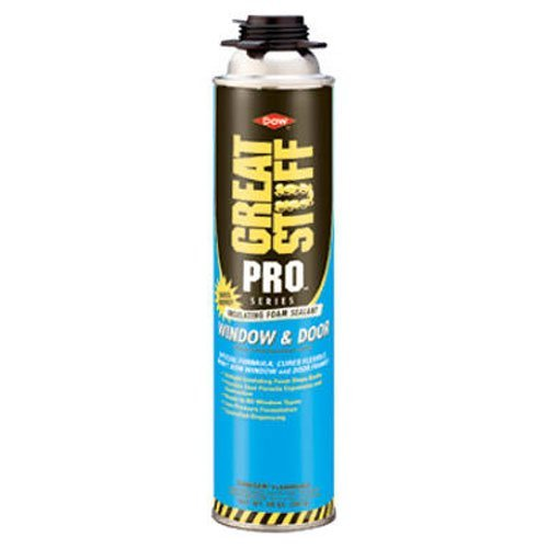 - GREAT STUFF PRO Window & Door 20 oz Insulating Foam Sealant