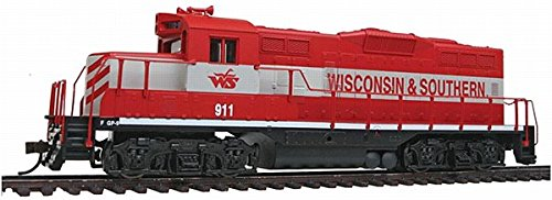 Walthers, Inc. Standard DC Wisconsin & Southern #911 Train, Red/Gray (Electrical Train compare prices)