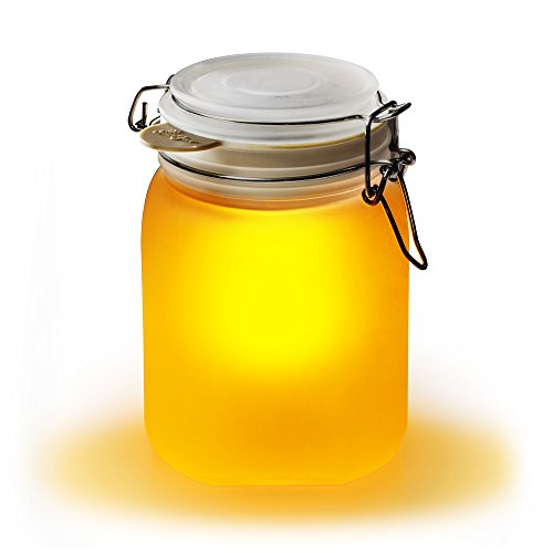 Suck UK Solar Sun Jar - Yellow