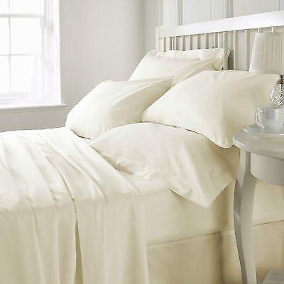 100% algodón egipcio-200 hilos fundas de edredón/plano/O equipada ...