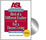 img - for Bird of a Different Feather & For a Decent Living book / textbook / text book