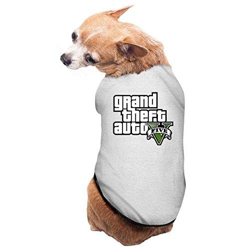 Pets GTA V Grand Theft Auto Logo T-shirt Gray (Grand Theft Auto 5 Heist)