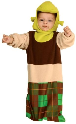 Baby Boy'S Costume: Shrek Bunting Infant 0-9 Months - Product Description - Headpiece And Bunting. 0-9 Months