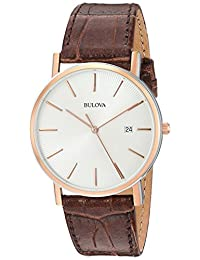 Bulova Men's 98H51 Calendar Strap Watch