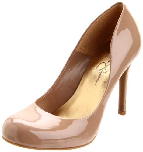 Jessica Simpson Womens Calie PumpNude Patent6.5 M US
