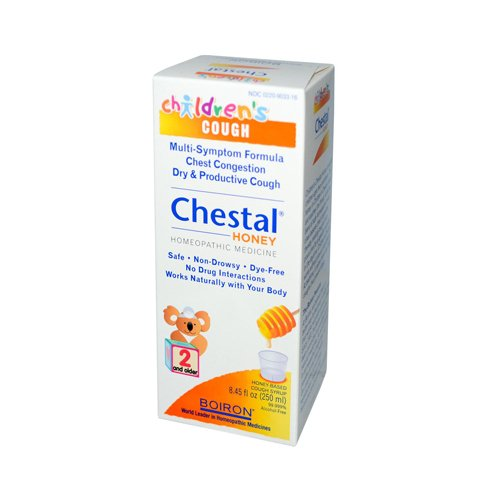 Boiron Children's Chestal Cough Syrup Honey - 8.45 fl oz Beds, Bedding, Furniture, Sheets -