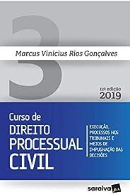 Novo curso de Direito Processual Civil - 12ª edição de 2019: Execução, processos nos tribunais e meios de impu