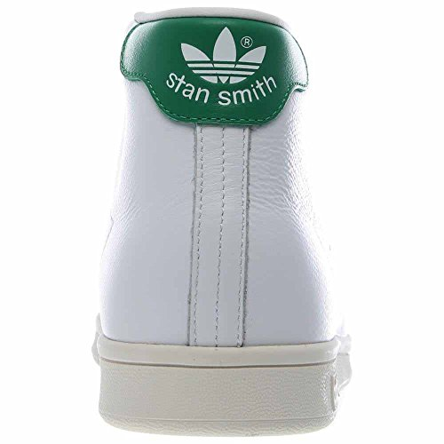 27e7ea20c3f Adidas B24538 Men s Originals Stan Smith Mid Trainers White Green Size 9   Amazon.ca  Shoes   Handbags