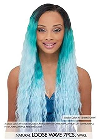 Amazon janet encore human hair mix pastel weave natural janet encore human hair mix pastel weave natural yaki 7pcs pt1bmint pmusecretfo Image collections