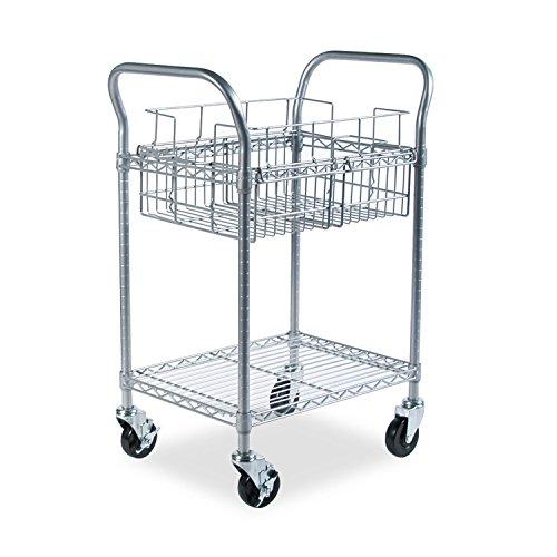(SAF5235GR - Safco Wire Mail Cart)