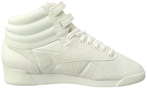Lux Freestyle Hautes chalk Txt Reebok Blanc Baskets Femme Hi chalk qpdwEZE