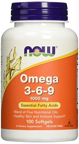 Foods Omega 3 6 9 1000 softgels