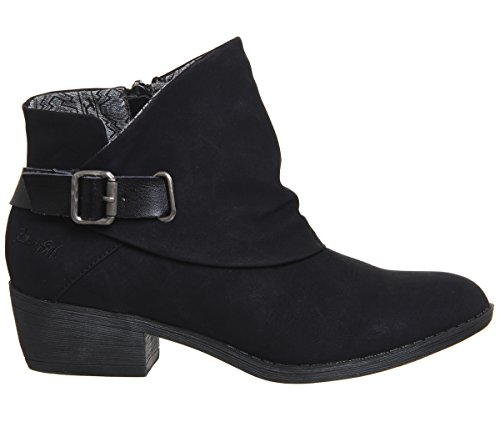 Sill Ankle Texas Boots Black Blowfish TR5dqwT